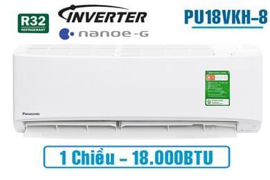 Điều hòa Panasonic inverter PU18VKH-8 1 chiều 18000BTU