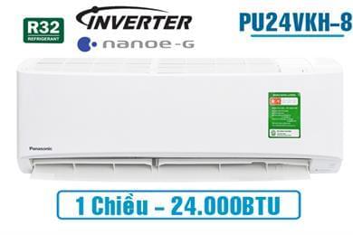 Điều hòa Panasonic inverter PU24VKH-8 1 chiều 24000BTU