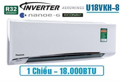 Điều hòa Panasonic inverter U18VKH 1 chiều 18000BTU
