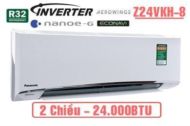 Điều hòa Panasonic 2 chiều inverter Z24VKH-8 24000BTU