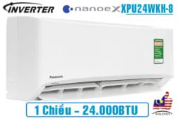 Điều hòa Panasonic công suất 24000BTU 1 chiều inverter XPU24WKH-8